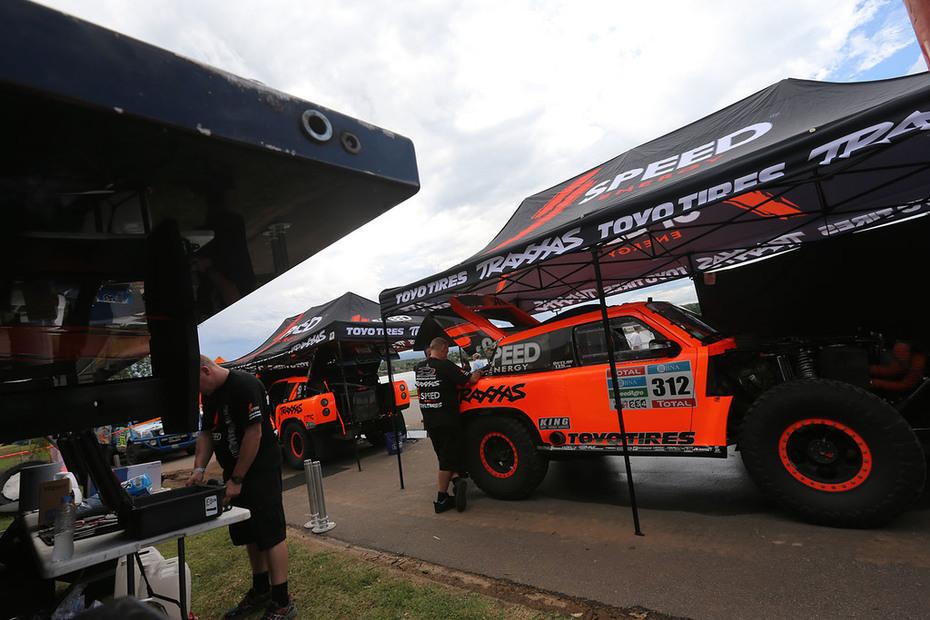 2016 Dakar Rally Stage 1 Bivouac