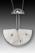 mushroom coral pendant