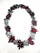 Dark Ruby Trace, necklace