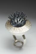 Black Urchin Ring