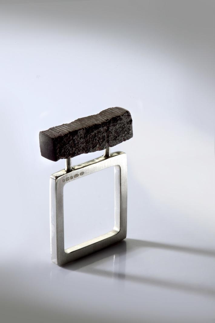 purple slate square ring