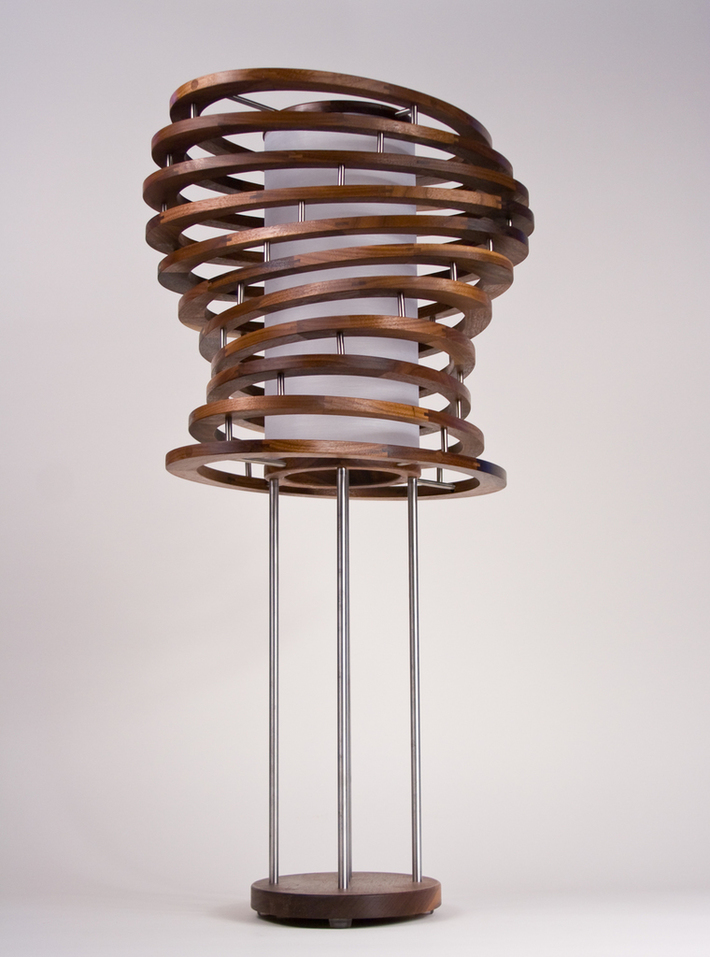 The Cyclone Table Lamp