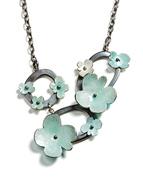 green flora neckpiece