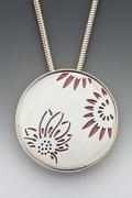 Triple Sunflower Necklace