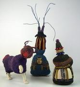 Detail image - Porcelain Fetishes; Dog, Forest, shamanka