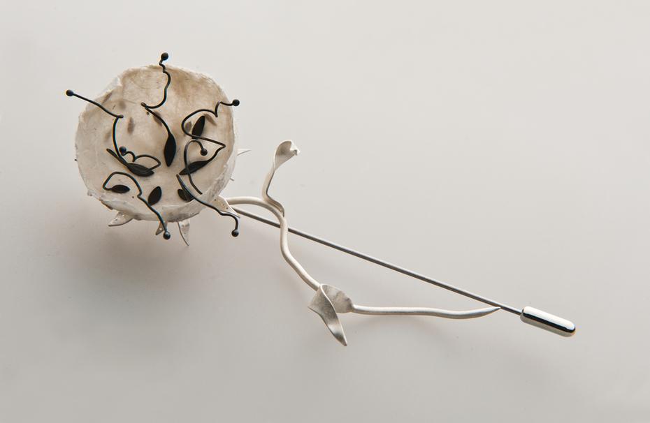 Untitled Brooch (Disintegration series)