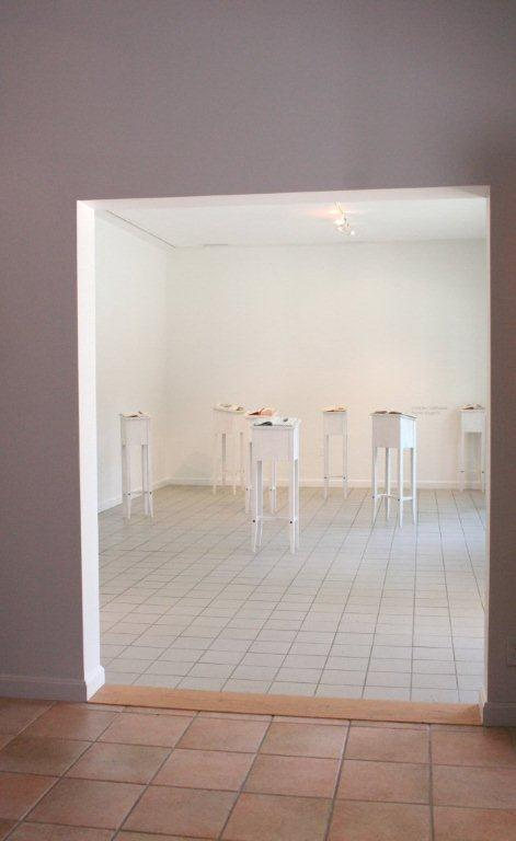 Found Subjects- view of exhibition  installation at Sienna Gallery Projects Space