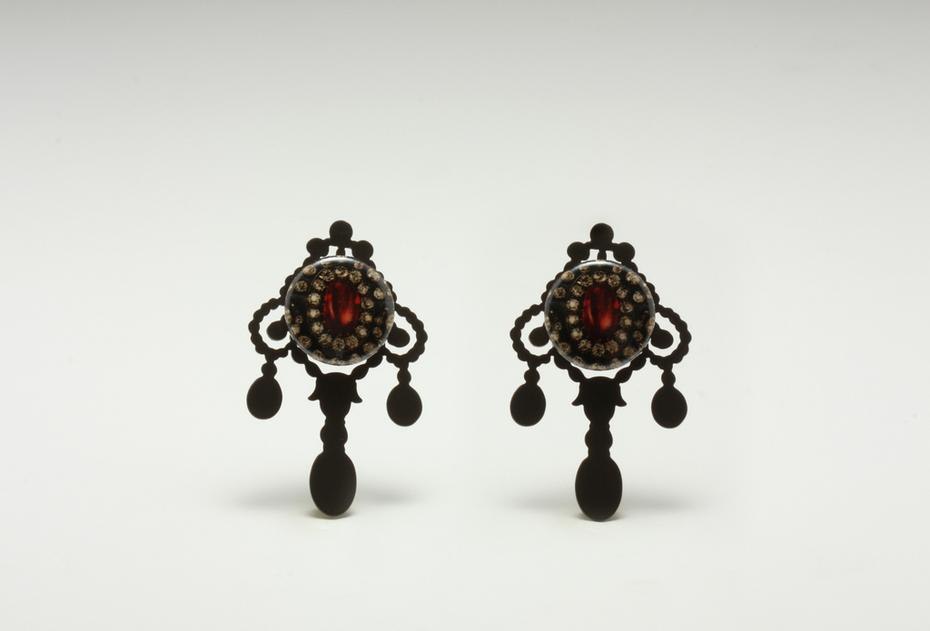 """""""Faux Real"""" earrings"""