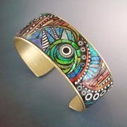 Bird Land Cuff Bracelet