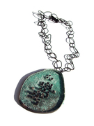 Dr Grace Miracle Cure for Rising Sea Levels - Oxidised necklace