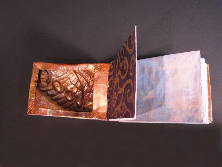 The Falcon (inside cover) by Victoria Lansford