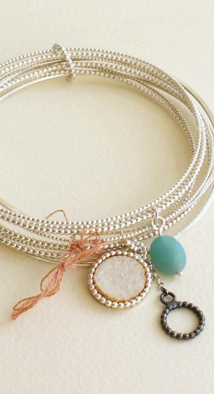 Clustered Bracelets 3