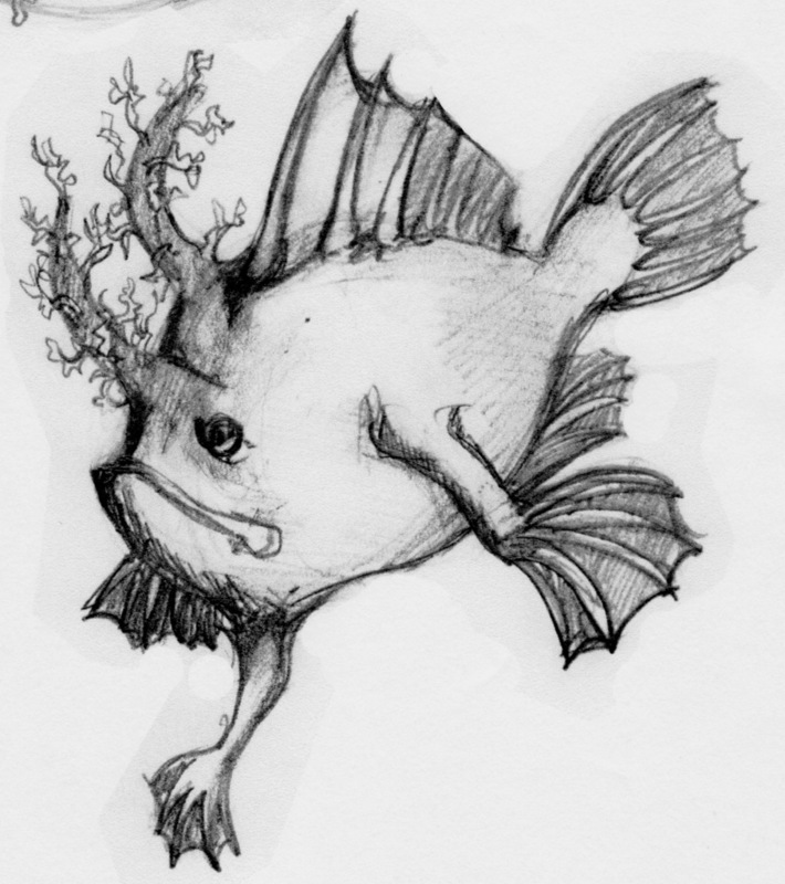 "Concept sketch for ""Prehensile"""