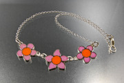 RI necklace Pink