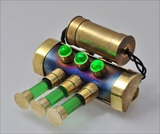 Brass Titanium Green Light Pin - Photo 5