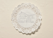 Yia-yia's Quilt: Grandma's House detail
