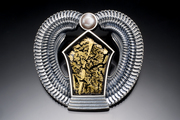 Egyptian House - pin/pendant
