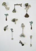 Winter Vigil brooch series