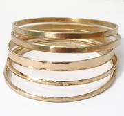 Bangle Bracelets 14k