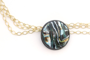Necklace: Untitled Study in Enamel