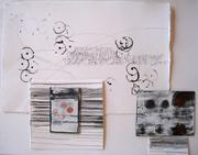 Studio shot: enamel on steel