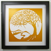 Tree Of Life Wall and Home Décor Silhouette Cutout
