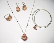 CJ Recht - 14k Gold Amemone collection
