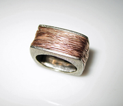 CJ Recht 18k Rose Gold Wire Wrap Ring