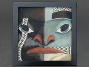 """Raven Paint"" micro-mosaic"