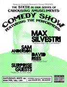 BCRG Presents: Live Comedy with Max Silvestri and Allison Silverman