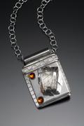 Tourmalated Quartz Necklace 2006