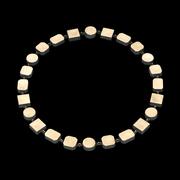 gigi mariani - solitaire necklace