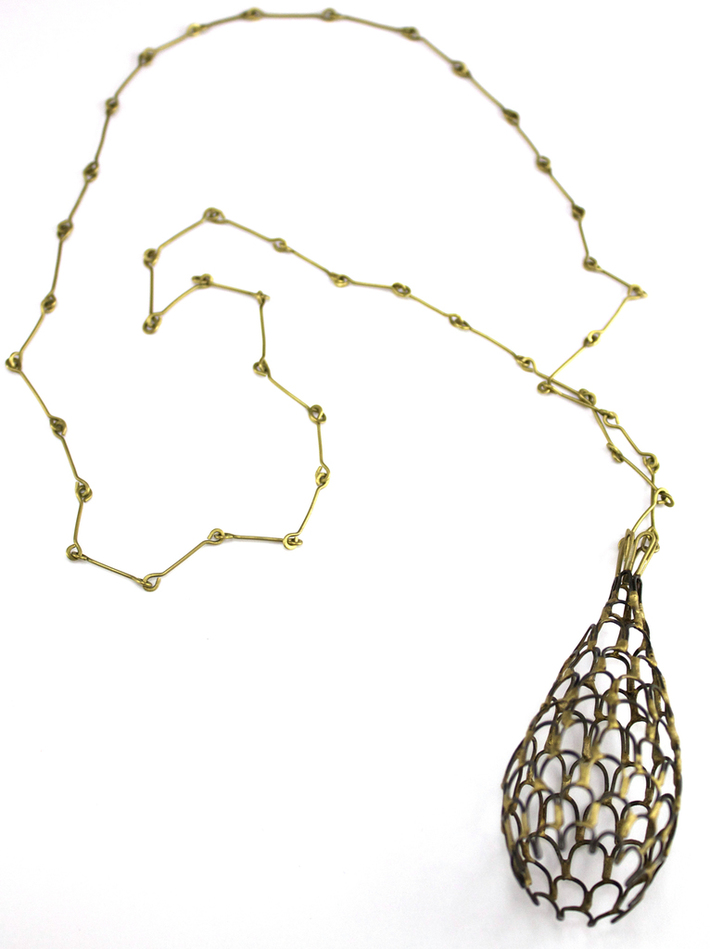 Small Sieve Necklace