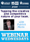 Beyond Disruption: Tapping the creative and competitive nature of your team.