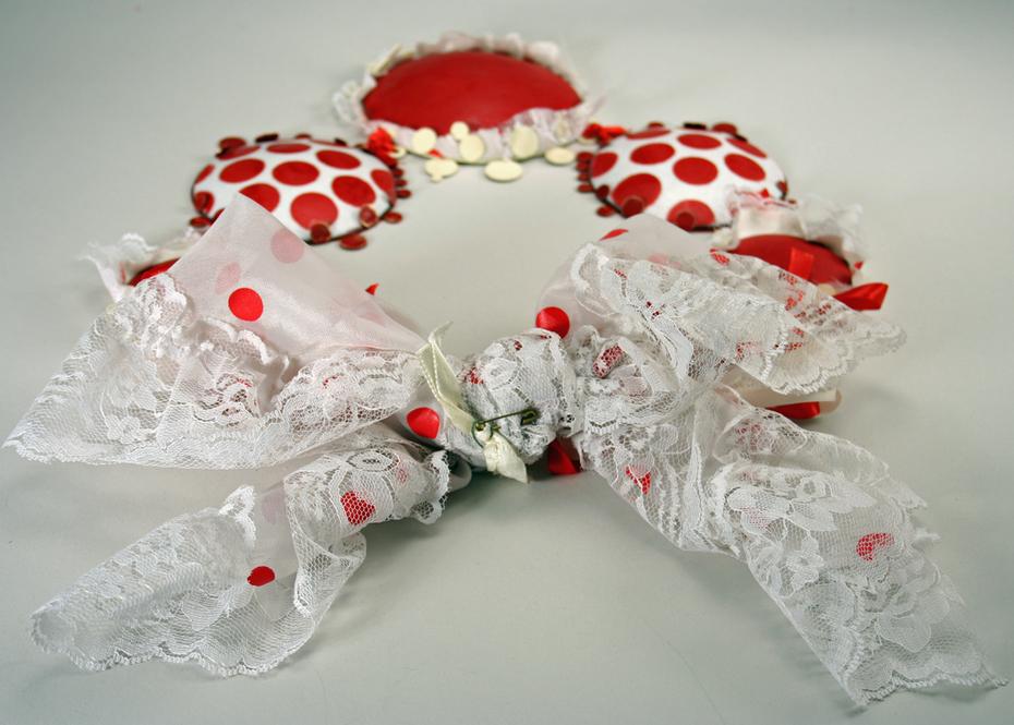 Red Polka Dot Dress (Bow Detail)