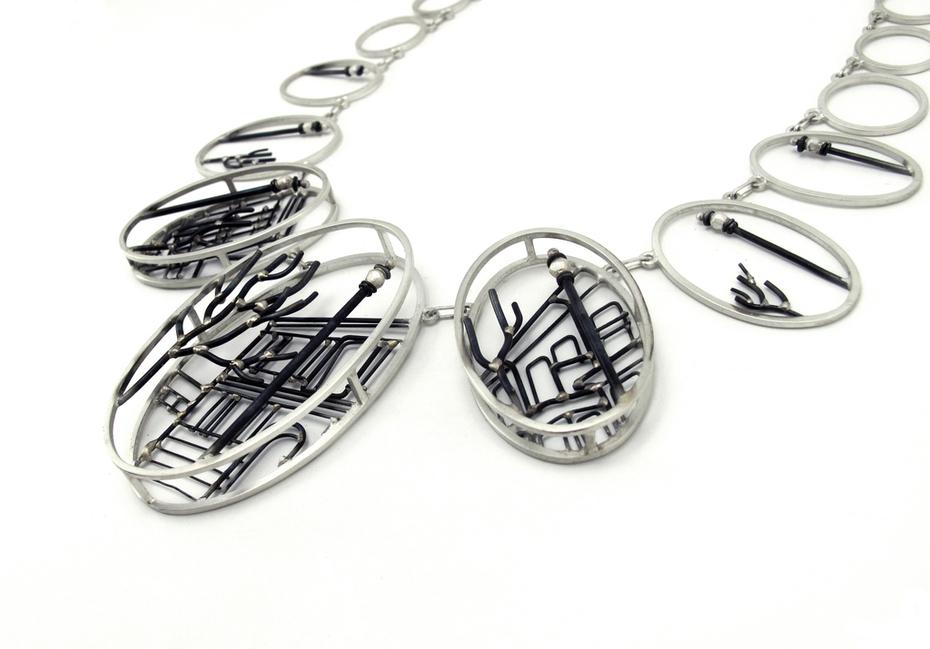 Asheville Necklace Detail