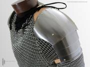 Late 14th Century Spaudlers (Shoulders)