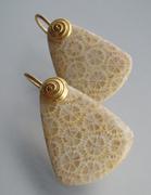 Brain coral Earrings