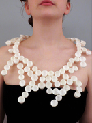 Invert of White Cocoon Collar