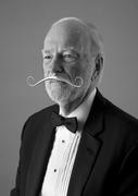 Elegant Gentleman's Prosthetic Moustache