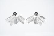 Granulated Fractal Earrings