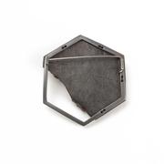 rubber sole brooch
