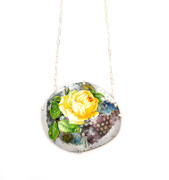 Industrial Rose Necklace