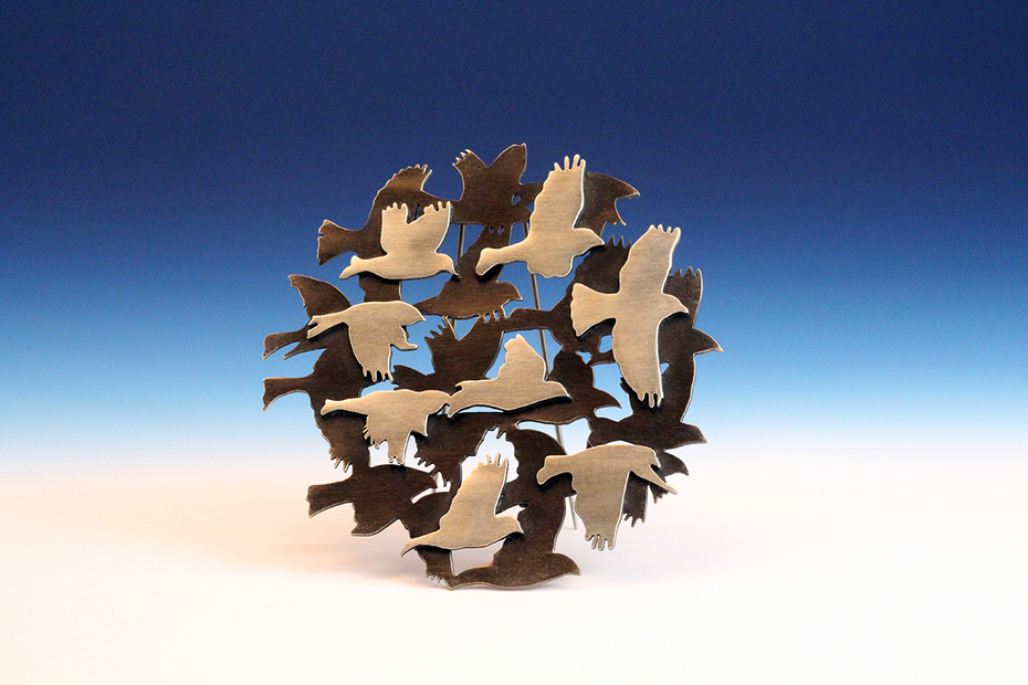 Migration Brooch Series
