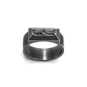 Twin Illustion Baguette Ring