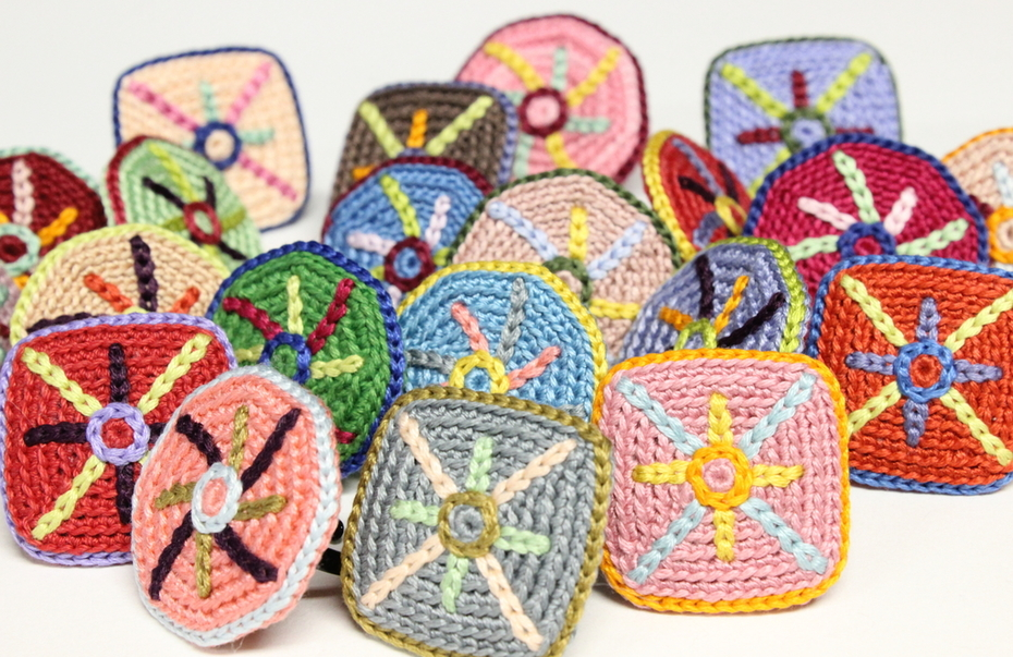 Crocheted Cotton Rings