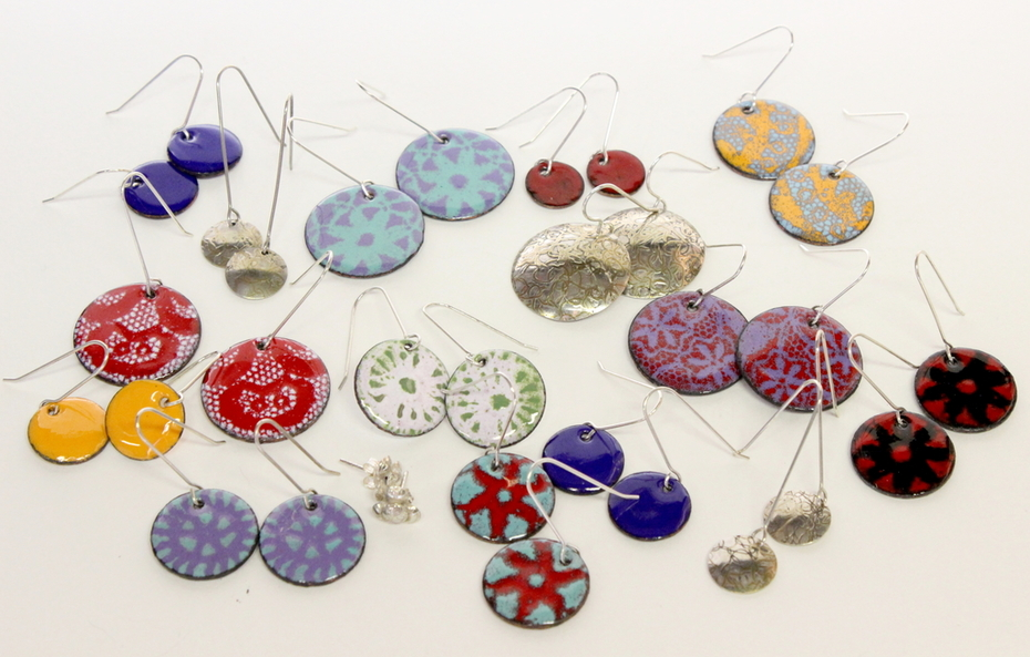 Doily and Crochet Earrings