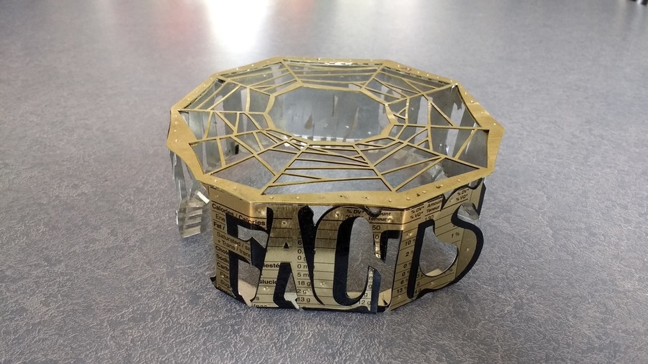 TRUTH - Alternative Facets Bracelet (in progress)
