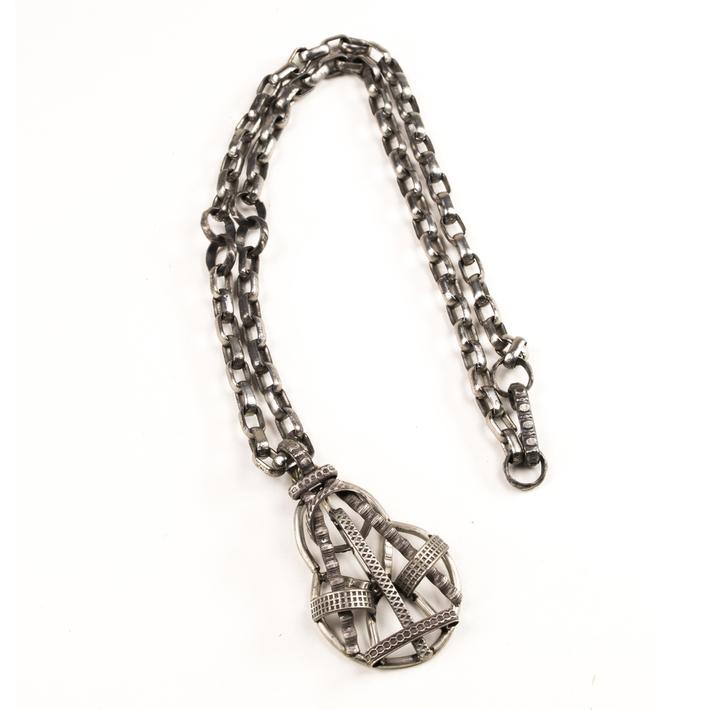Pendant and necklace of indeterminate origin