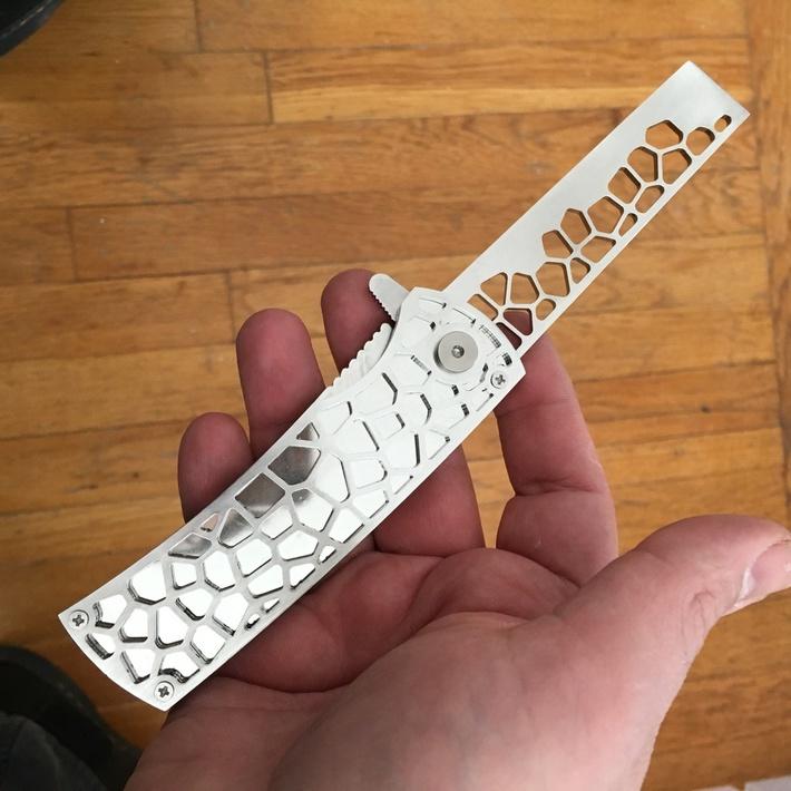 folding knife prototype